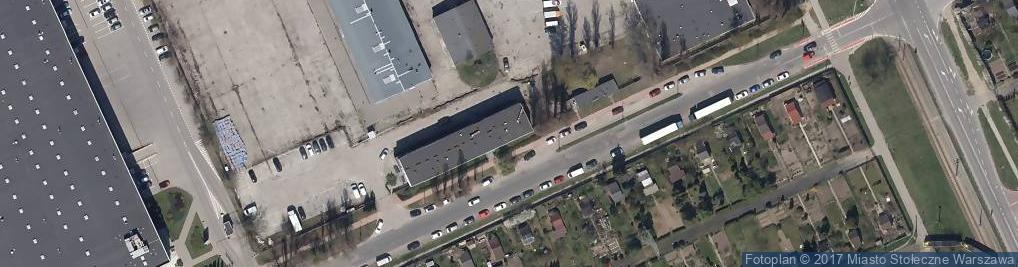Zdjęcie satelitarne Mercedes Benz Warszawa Sp. z o.o.