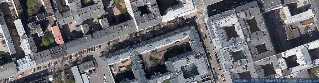 Zdjęcie satelitarne Sklep Spożywczy Duet Zwolińska Elżbiata