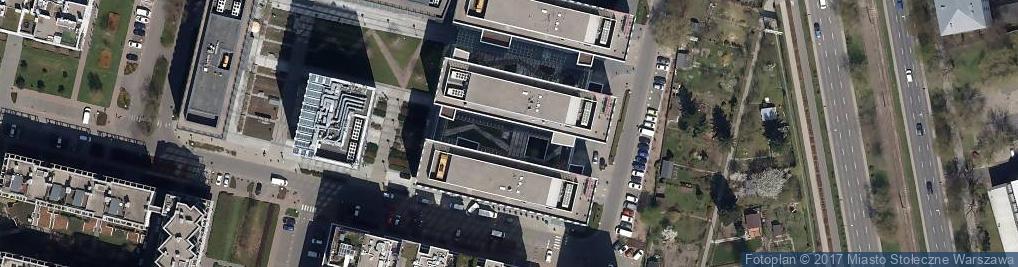 Zdjęcie satelitarne Bank Millennium