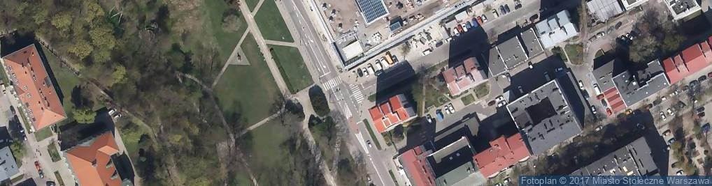 Zdjęcie satelitarne Monitoring miejski
