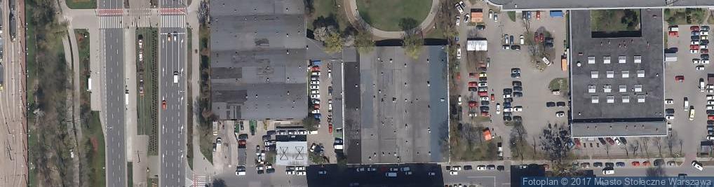 Zdjęcie satelitarne Copacabana Warszawa