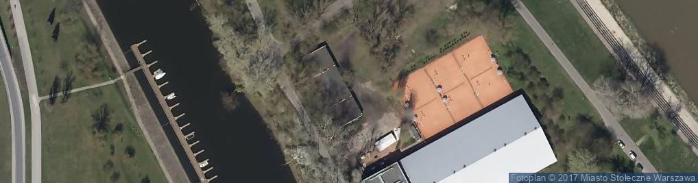 Zdjęcie satelitarne Korty Squasha WTS DeSki