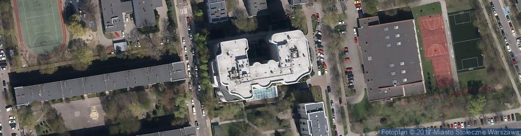 Zdjęcie satelitarne Pr1me Fitness & Wellness Żoliborz