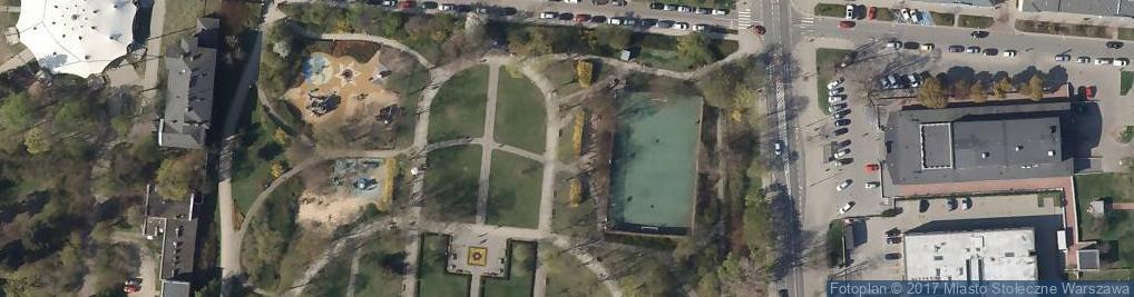 Zdjęcie satelitarne Boisko