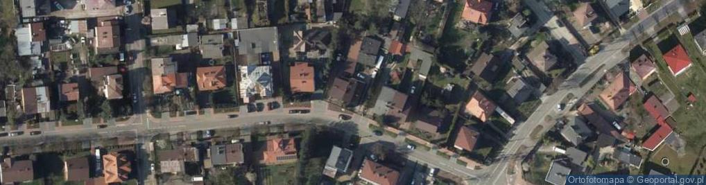 Zdjęcie satelitarne Wyszomirski A. Usługi asenizacyjne