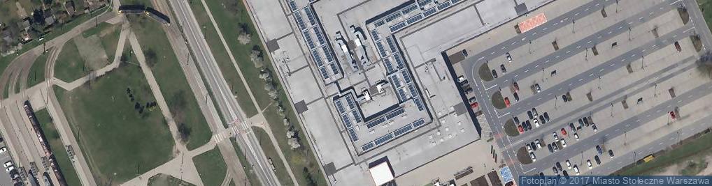 Zdjęcie satelitarne Levi Strauss & Co