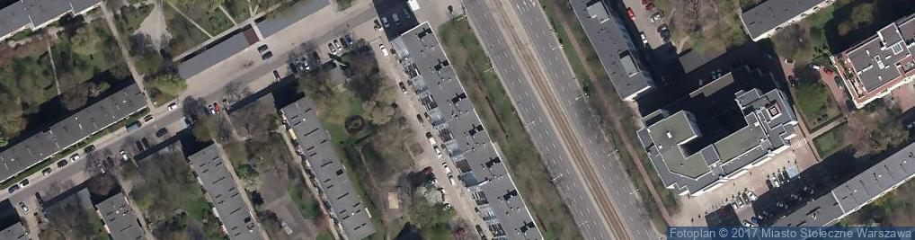Zdjęcie satelitarne Odzieżowy - Sklep