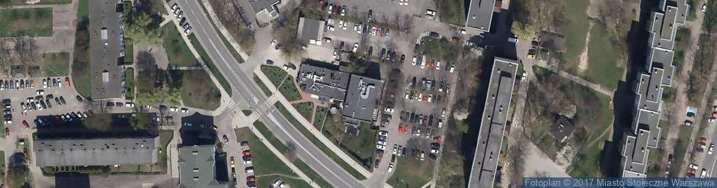Zdjęcie satelitarne Restauracja China Town