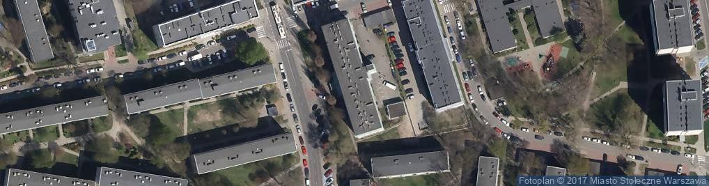 Zdjęcie satelitarne Ośrodek Szkoleniowo-Wypoczynkowy Exploris