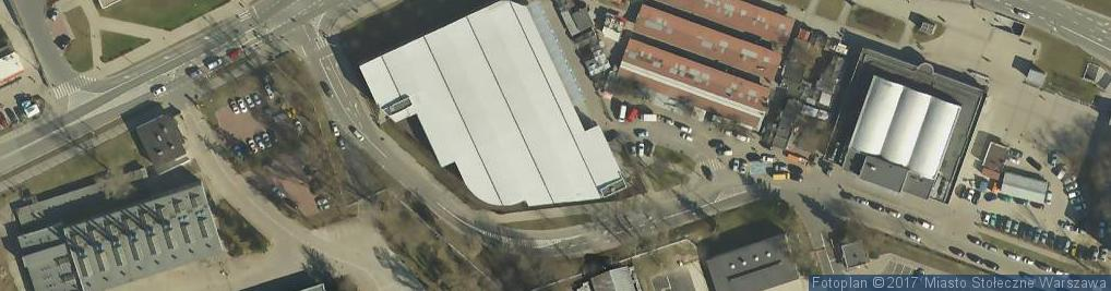 Zdjęcie satelitarne Metro Marymont