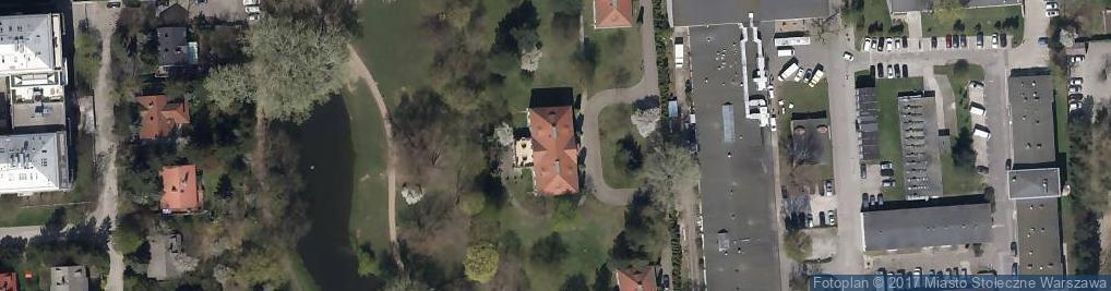 Zdjęcie satelitarne Pałacyk Sielecki