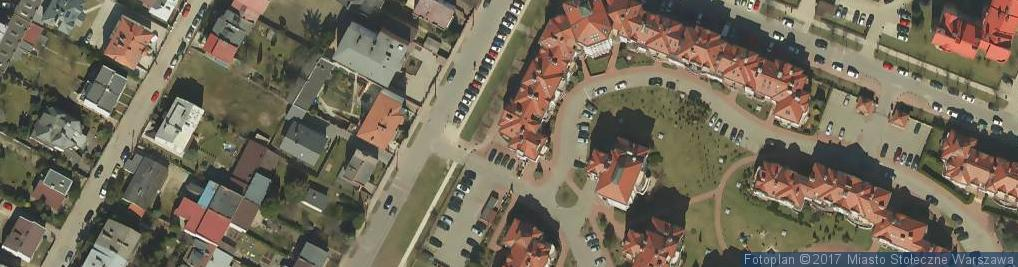 Zdjęcie satelitarne Kleks