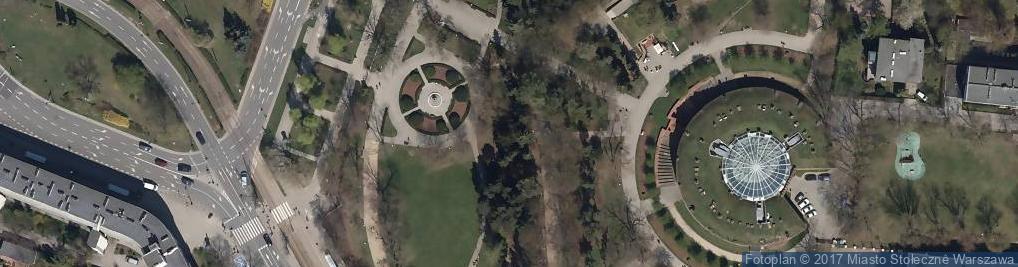 Zdjęcie satelitarne Park im. Stefana Żeromskiego