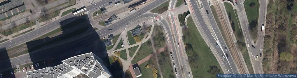 Zdjęcie satelitarne Skwer Batalionu AK - Czata 49