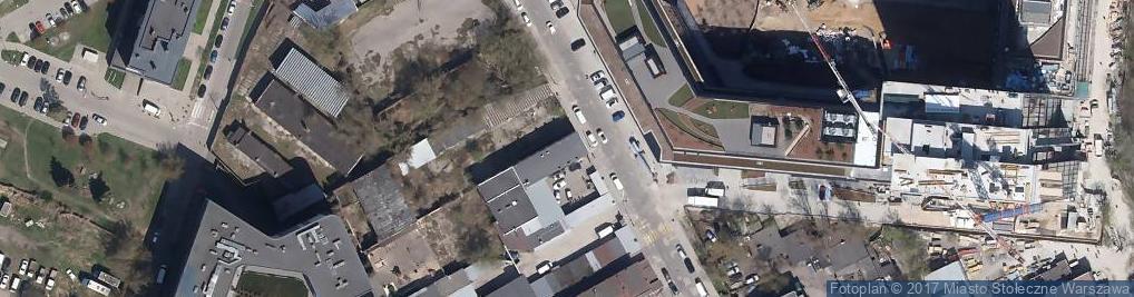 Zdjęcie satelitarne VR Warsaw - Salon Wirtualnej Rzeczywistości