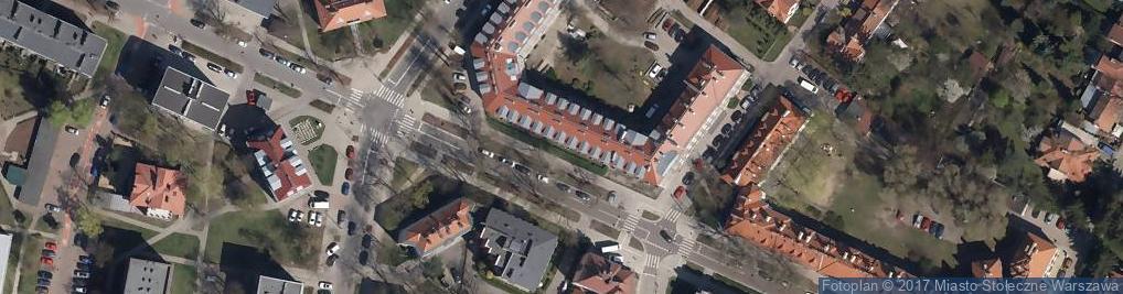 Zdjęcie satelitarne Dom Nauki CMKP