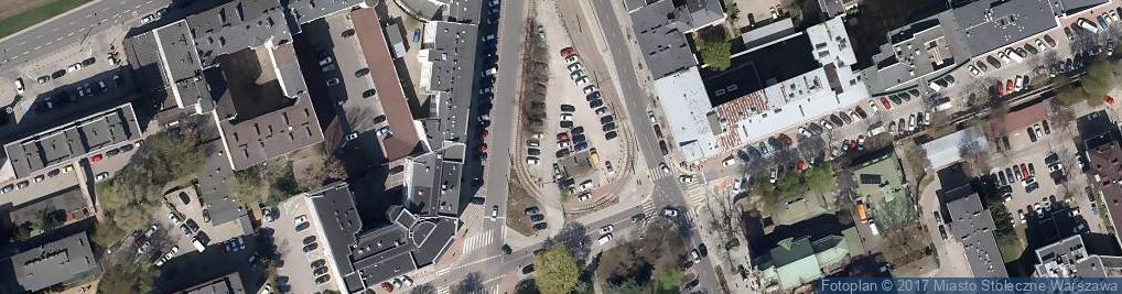 Zdjęcie satelitarne Pl. Starynkiewicza