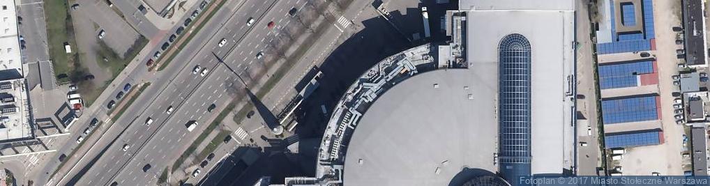 Zdjęcie satelitarne Magic City Sp. z o.o.