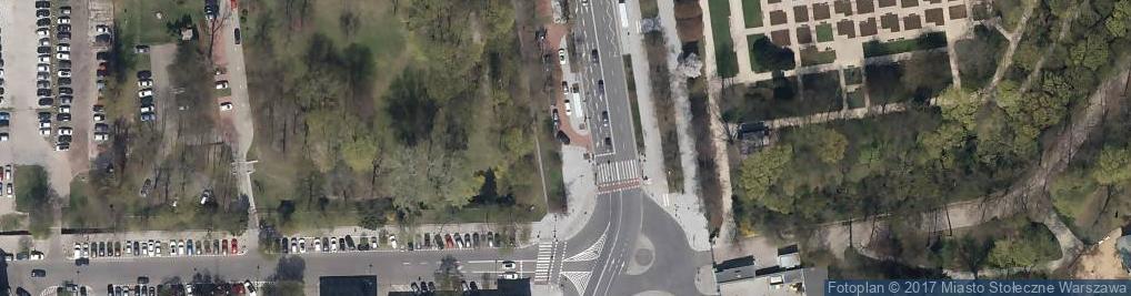 Zdjęcie satelitarne Parking Płatny-niestrzeżony
