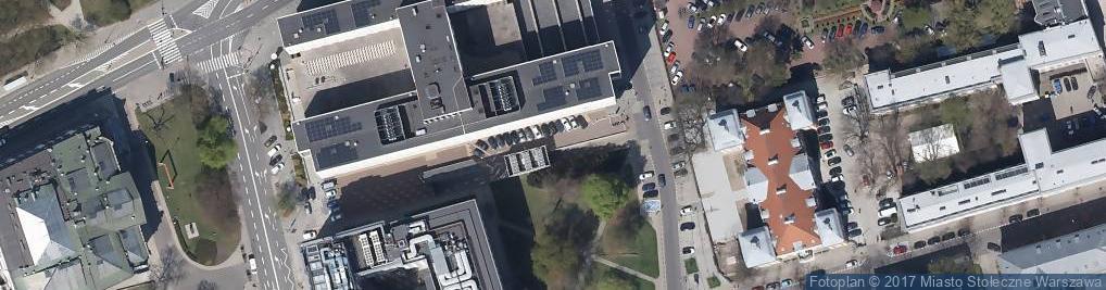 Zdjęcie satelitarne Parking Płatny-strzeżony