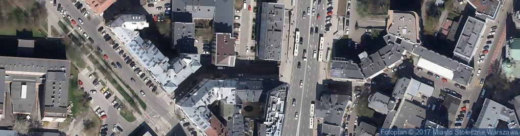 Zdjęcie satelitarne Parking podziemny OSiR Polna