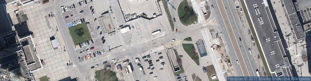 Zdjęcie satelitarne Płatny parking strzeżony całodobowy ZTP