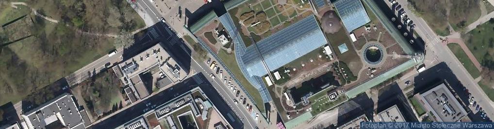 Zdjęcie satelitarne FUP Warszawa 1