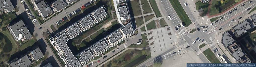 Zdjęcie satelitarne FUP Warszawa 76