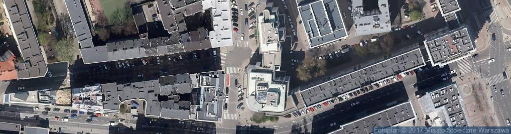 Zdjęcie satelitarne UP Warszawa 10