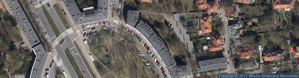 Zdjęcie satelitarne UP Warszawa 77