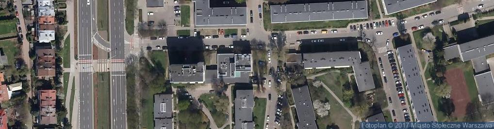 Zdjęcie satelitarne Wydział Inżynierii Materiałowej