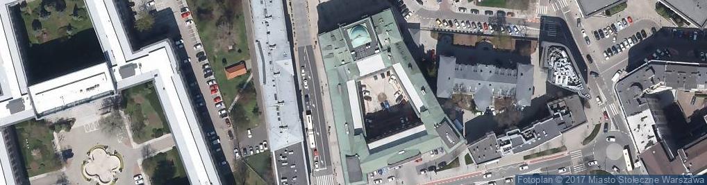Zdjęcie satelitarne Archiwum Polskiej Akademii Nauk