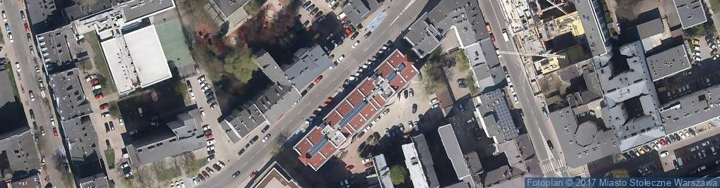Zdjęcie satelitarne Instytut Geografii i Przestrzennego Zagospodarowania