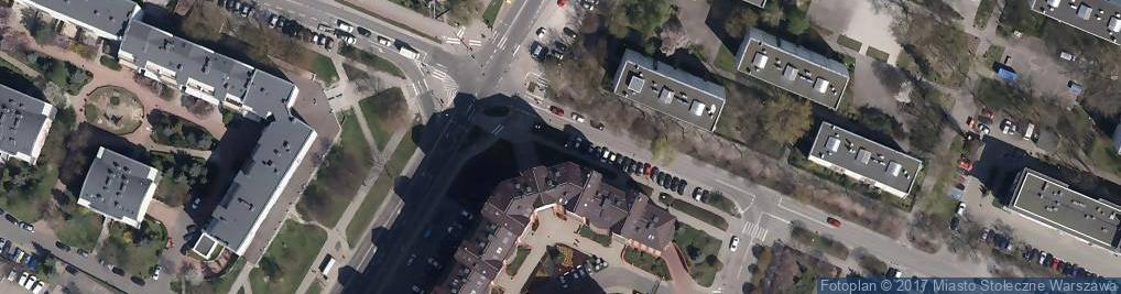 Zdjęcie satelitarne Na Rogu Cafe