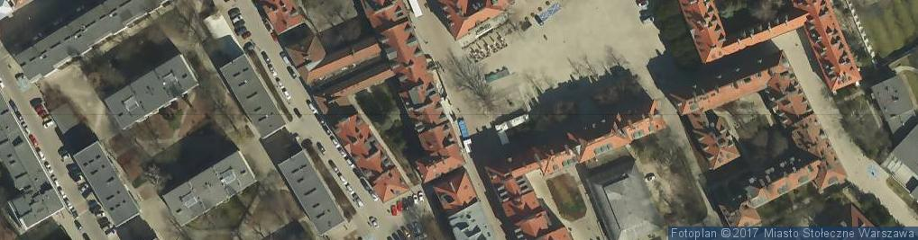 Zdjęcie satelitarne Pomnik św. Klemensa Hofbauera - Rynek Nowego Miasta