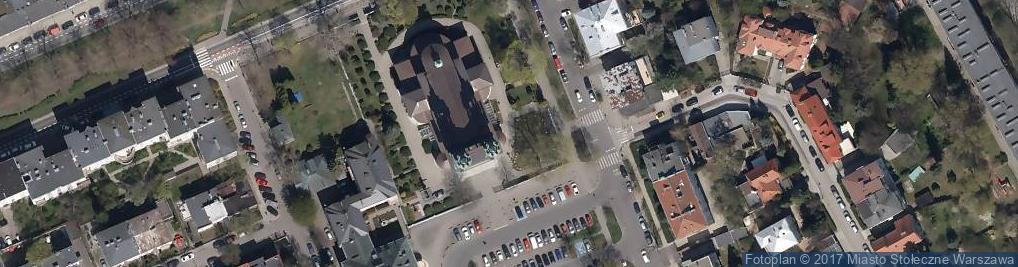 Zdjęcie satelitarne Powstanie Warszawskie