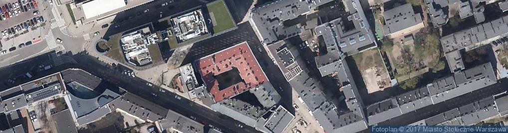 Zdjęcie satelitarne Solidarność