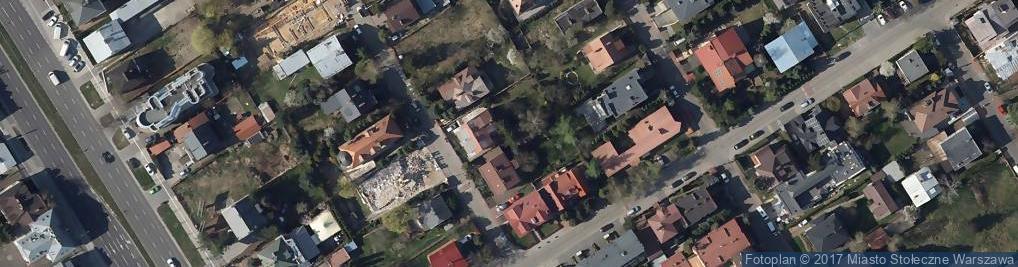 Zdjęcie satelitarne Wilanowskie Centrum Integracji Sensorycznej - Sens Therapies Mar