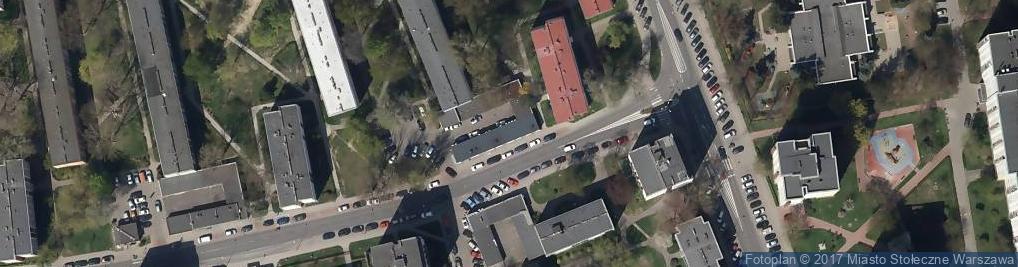 Zdjęcie satelitarne DIAGDENT Saska Kępa