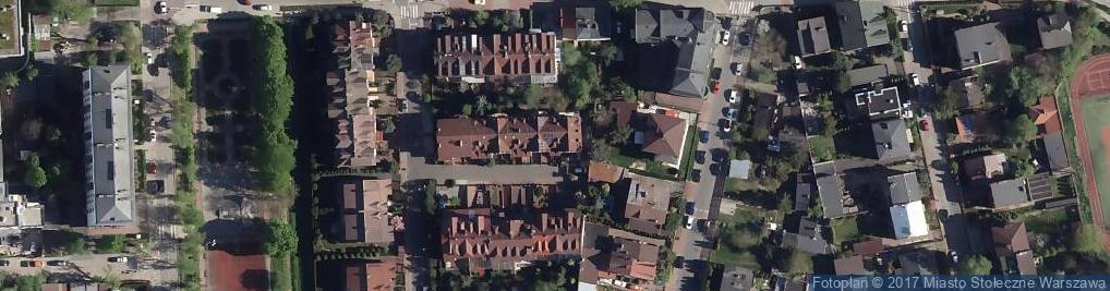 Zdjęcie satelitarne Laboratorium Pierwiastków Śladowych