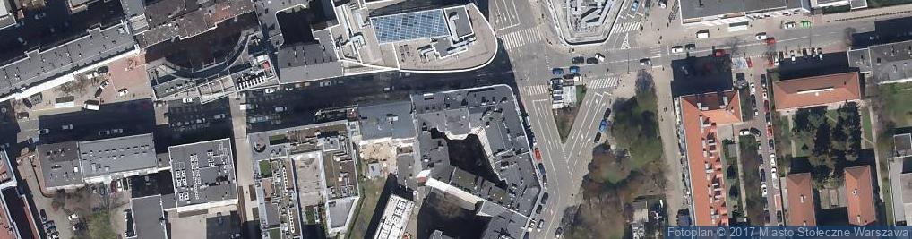 Zdjęcie satelitarne Pracownia Analiz Lekarskich