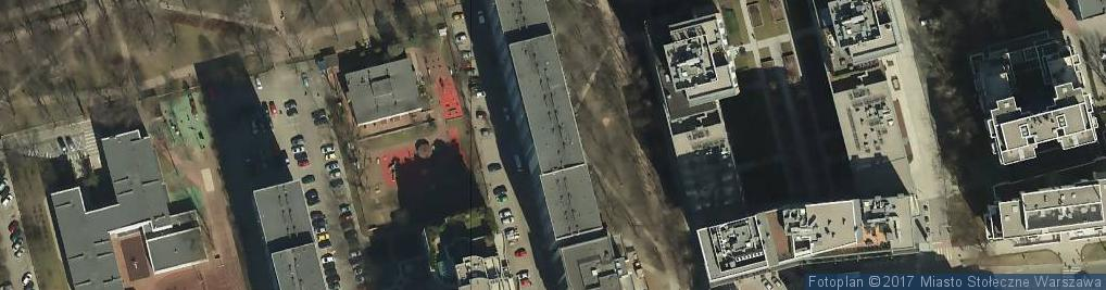 Zdjęcie satelitarne Centrum Jaskry