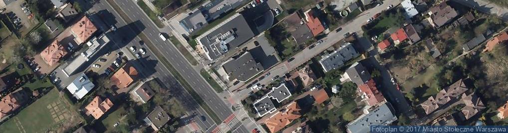 Zdjęcie satelitarne Radiologica Wilanów