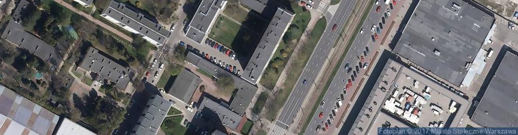 Zdjęcie satelitarne 5Plus Zarządzanie Nieruchomościami