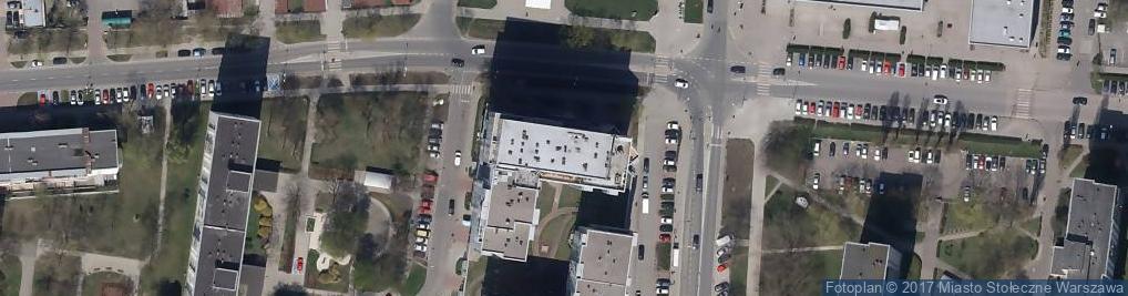 Zdjęcie satelitarne Aakon
