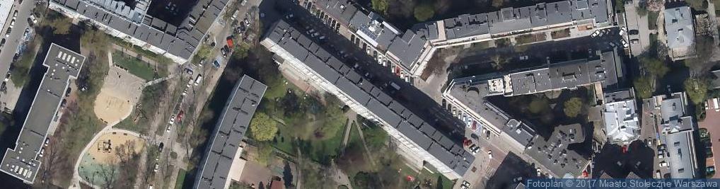 Zdjęcie satelitarne Agencja Handlowa Commercium Gajda Tymoteusz i S Ka