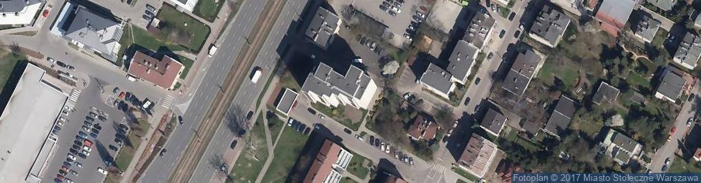 Zdjęcie satelitarne Agencja Promocyjno Informacyjna Api Szczęsny A i S Ka