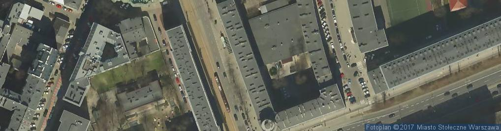 Zdjęcie satelitarne Agencja Reklamowa Belladonna