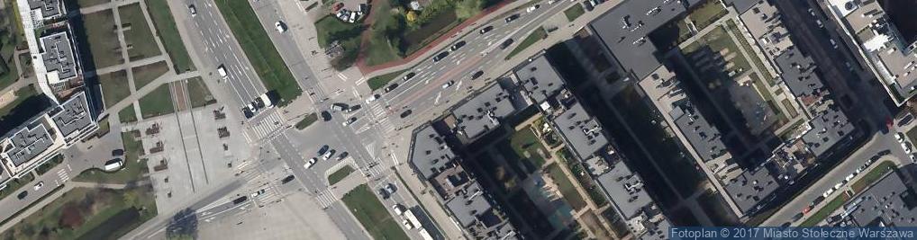Zdjęcie satelitarne Agencja Reklamowa K&M