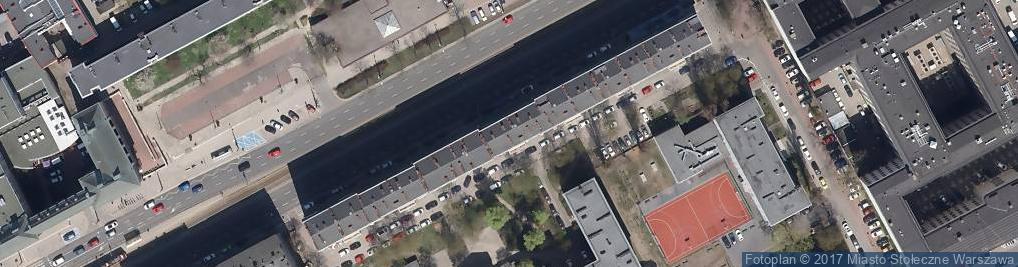 Zdjęcie satelitarne Agencja Ubezpieczeniowa Denar